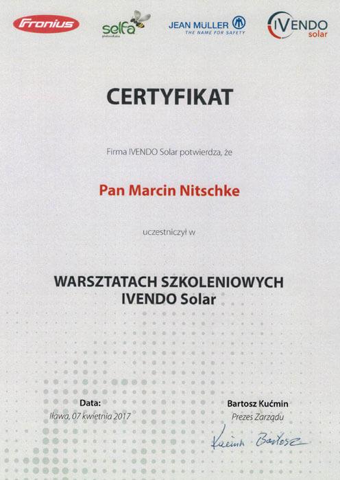 Certyfikat-Fronius-M